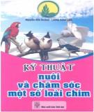 Hướng dẫn nuôi và chăm sóc một số loài chim: Phần 1