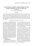 Nỗi ám ảnh của những cái bóng trong tập thơ Haiku chấm hoa vàng của Hà Thiên Sơn - Trần Xuân Tiến