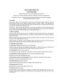 Tiêu chuẩn Quốc gia TCVN 8301:2009