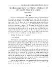 Vấn đề giáo dục trong Tam Tự Kinh, tự học Hán Cổ của Đại đức Thích Minh Nghiêm - Mỵ Thị Quỳnh Lê