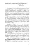 Nguồn gốc, lịch sử và cấu trúc của chữ Nôm từ bối cảnh văn hóa Đông Á - TS. Trần Trọng Dương
