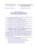 Thông tư liên tịch số: 158/2007/TTLT-BTC-BTP