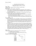 Đáp án học kỳ 2 môn: Trang bị điện và điện tử (Năm học 2010-2011)
