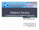 Midterm Review Cryptography & Network Security - Nguyen Cao Dat