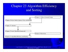 Introduction to java programming: Chapter 23 - Algorithm Efficiency and Sorting