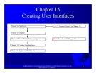Introduction to java programming: Chapter 15 - Creating User Interfaces