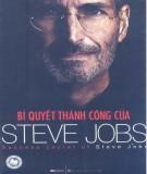 Ebook Bí quyết thành công của Steve Jobs: Phần 1
