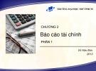 Bài giảng Nguyên lý kế toán (2013): Chương 2.1 - PGS.TS Vũ Hữu Đức