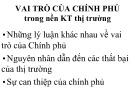 Bài giảng Kinh tế vi mô: Chương 7 - TS. Nguyễn Thị Thu