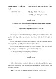 Quyết định Số: 337/QĐ-BKH