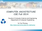 Computer Architecture: Chapter 3 - Vo Tan Phuong