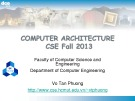 Computer Architecture: Chapter 4.2 - Vo Tan Phuong