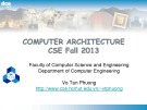 Computer Architecture: Chapter 1 - Vo Tan Phuong