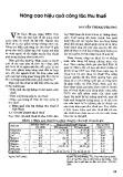Nâng cao hiệu quả công tác thu thuế - Nguyễn Thị Mai Phương
