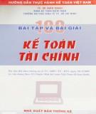 Ebook 100 bài tập và bài giải kế toán tài chính: Phần 1 - TS. Hà Xuân Thạch