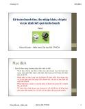 Bài giảng Kế toán tài chính 1: Chương 7 (phần 2) - TS. Vũ Hữu Đức