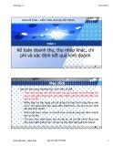 Bài giảng Kế toán tài chính 1: Chương 7 (phần 1) - TS. Vũ Hữu Đức