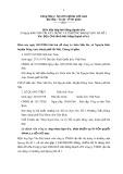 Biên bản họp hội đồng thành viên: Công ty TNHH vận tải xây dựng và thương mại Quang Hà số 1