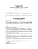 Tiêu chuẩn Quốc gia TCVN 7401:2010