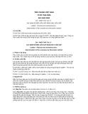 Tiêu chuẩn Việt Nam TCVN 7534:2005 - ISO 5402:2002