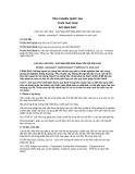 Tiêu chuẩn Quốc gia TCVN 7647:2010 - ISO 5603:2007