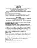 Tiêu chuẩn Quốc gia TCVN 7785:2007 - ISO 14674:2005