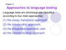 Bài giảng môn Phương pháp kiểm tra và đánh giá học tập: Chapter 2 - Phan Thị Thu Nga