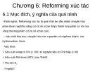 Bài giảng Chương 6: Reforming xúc tác
