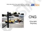Bài giảng CNG công nghệ ứng dụng