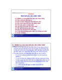 Bài giảng Nhập môn Công nghệ phần mềm: Chương 6 - ĐH Bách khoa TP HCM