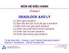 Bài giảng Hệ điều hành: Chương 4 - ĐH Bách khoa TP HCM