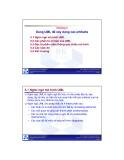 Bài giảng Nhập môn Công nghệ phần mềm: Chương 5 - ĐH Bách khoa TP HCM