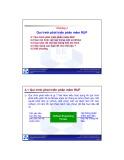 Bài giảng Nhập môn Công nghệ phần mềm: Chương 4 - ĐH Bách khoa TP HCM