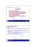 Bài giảng Kiến trúc phần mềm: Chương 2 - ĐH Bách khoa TP HCM
