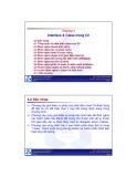 Bài giảng Lập trình hướng đối tượng: Chương 4 - ĐH Bách Khoa TP.HCM
