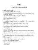 20 đề thi môn: Hôn nhân gia đình
