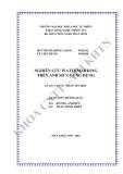 Luận văn cử nhân Tin học: Nghiên cứu Watermarking trên ảnh số và ứng dụng