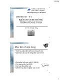 Bài giảng Hệ thống thông tin kế toán 2: Chương 3 (phần 1) - ThS. Vũ Quốc Thông