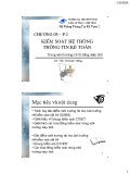 Bài giảng Hệ thống thông tin kế toán 2: Chương 3 (phần 2) - ThS. Vũ Quốc Thông
