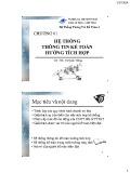 Bài giảng Hệ thống thông tin kế toán 2: Chương 1 - ThS. Vũ Quốc Thông