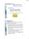 Bài giảng Hệ thống thông tin kế toán 2: Chương 6 - ThS. Vũ Quốc Thông