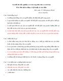 Câu hỏi thi trắc nghiệm môn: Bảo hộ lao động và kỹ thuật an toàn điện (Có trích công thức tính và cách làm)