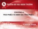 Bài giảng Đầu tư chứng khoán: Chương 4 - Nguyễn Thị Thu Huyền