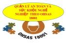 Bài giảng Quản lý an toàn và sức khỏe nghề nghiệp theo OHSAS 18001