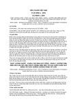 Tiêu chuẩn Việt Nam TCVN 6966-1:2001 - ISO 8689-1:2000