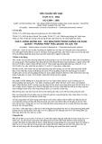 Tiêu chuẩn Việt Nam TCVN 7171:2002 - ISO 13964:1998