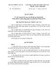 Quyết định số: 883/QĐ-BGTVT
