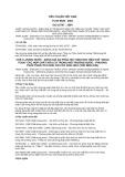 Tiêu chuẩn Việt Nam TCVN 6828:2001 - ISO 10707:1994