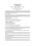 Tiêu chuẩn Việt Nam TCVN 6616:2000