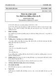 Tiêu chuẩn Việt Nam TCVN 6599:2000